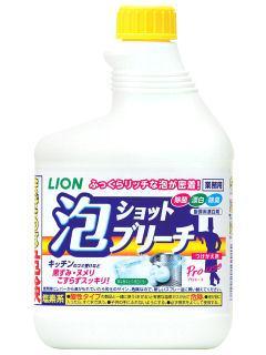 ライオン 泡ショットブリーチ 付替用 520ml