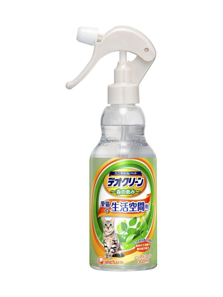 デオクリーン 消臭スプレー 猫用 本体 300ml
