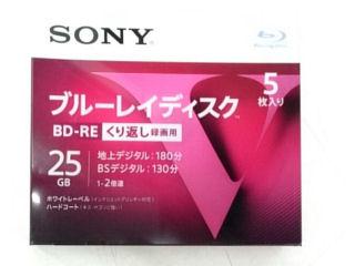 SONY ブルーレイディスク BD-RE 各種