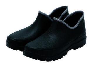 紳士 かる~い防水ショートブーツ ブラック 25.5~26.0cm