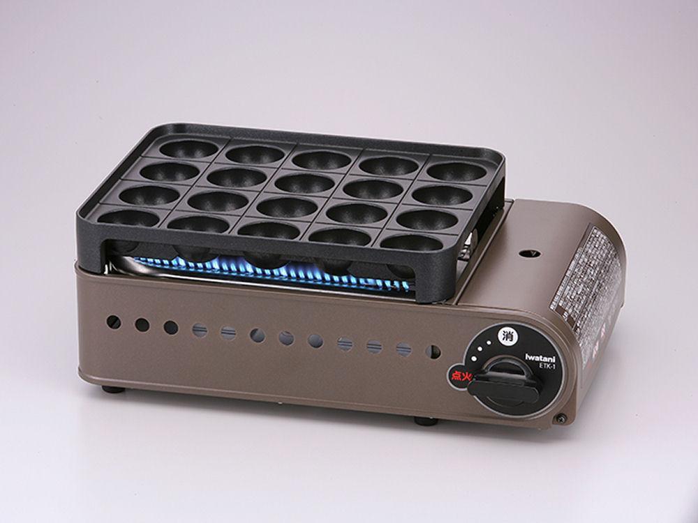 岩谷 カセットガスたこ焼器 CB-ETK-1