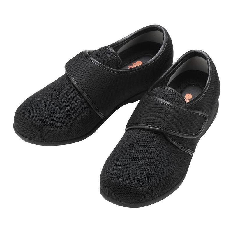 たんぽぽ日和 6316 T-316(室外履き) ブラック 3L