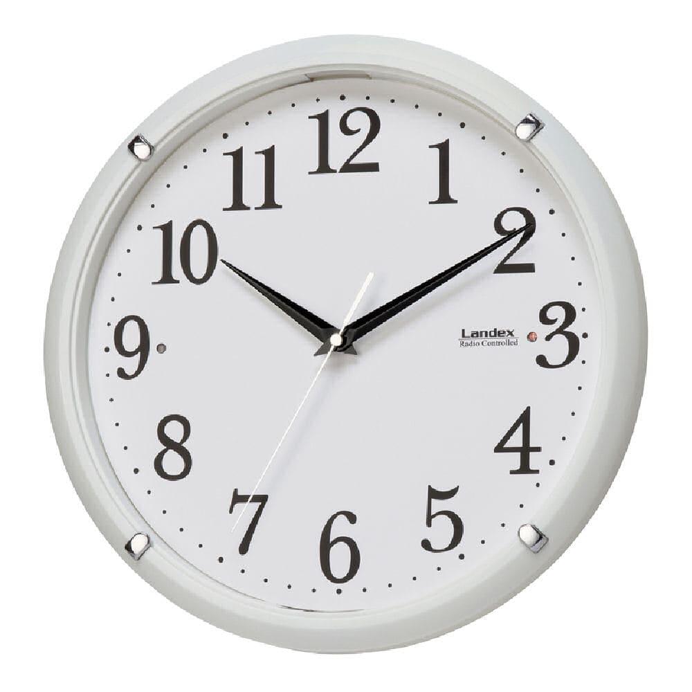 ヨシクニ 電波掛時計 トキテラス YW9146WH