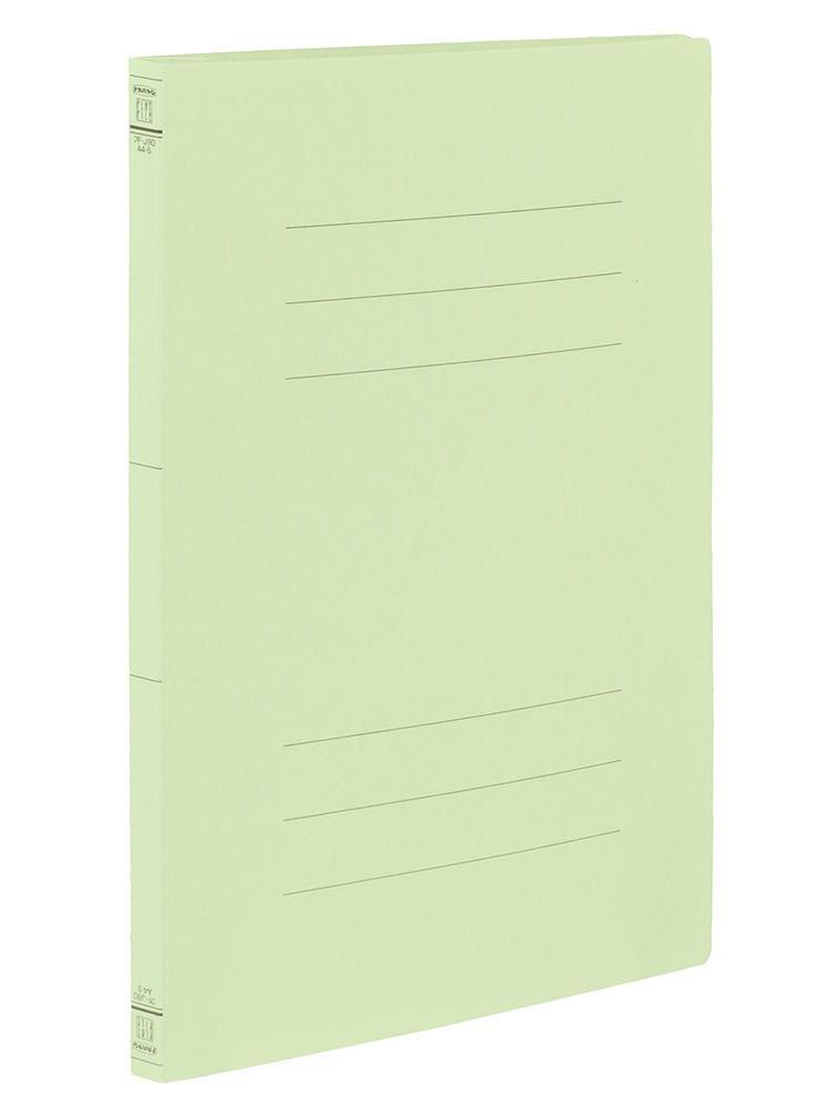 ナカバヤシ フラットファイル A4 S グリーン