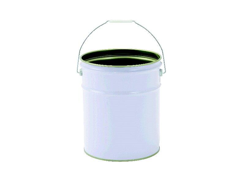 ペール缶 20L 白 本体