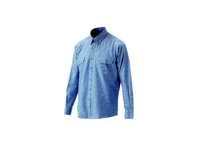紳士ボタンダウンシャツ コン M