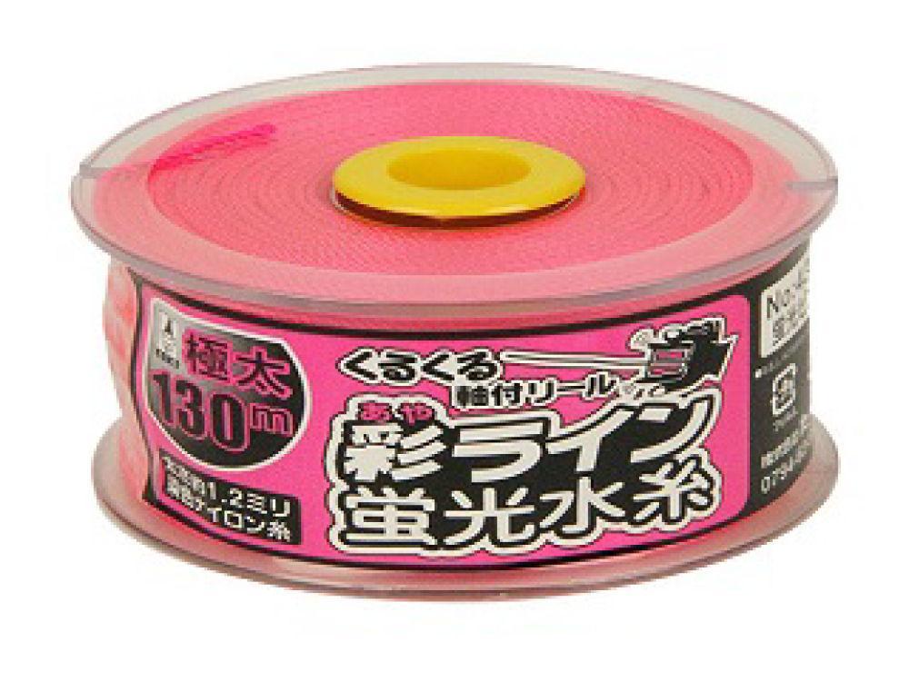 たくみ 彩ライン ピンク 極太130 NO.4349