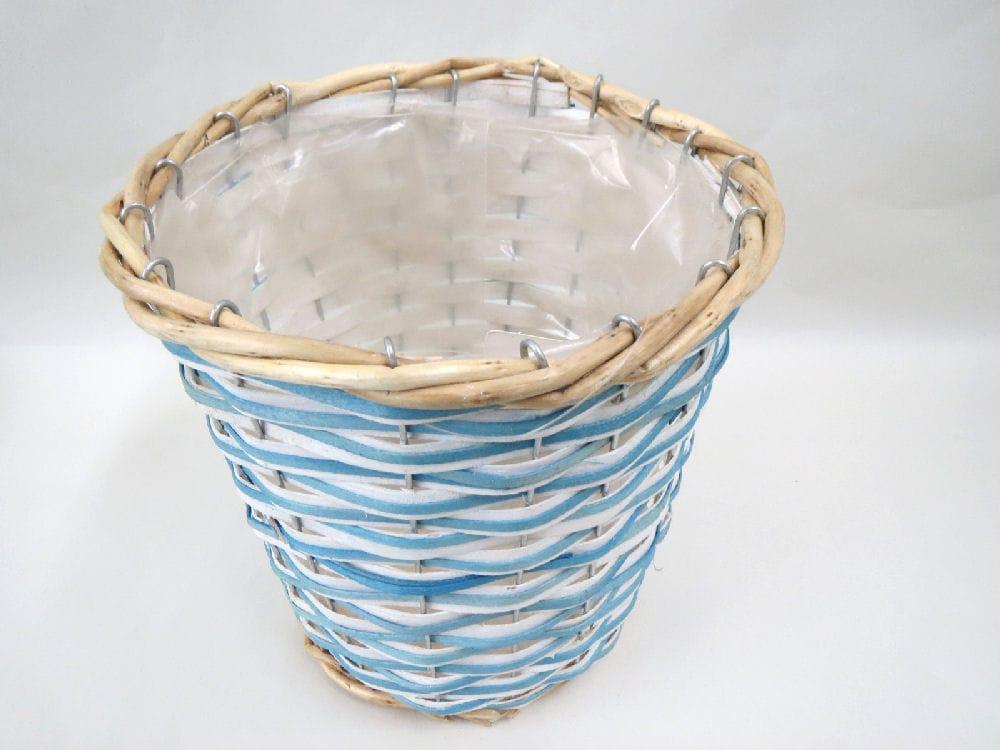 鉢カバーL ブルー 17S GY665818B-L