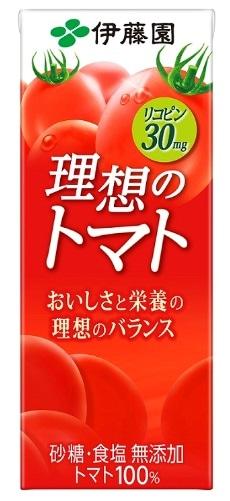 伊藤園 理想のトマト 200ml 紙パック