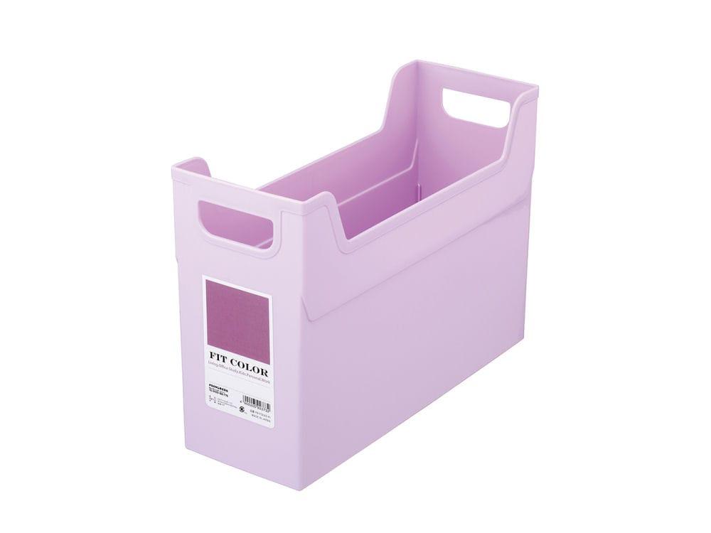 ナカバヤシ フィットカラー ファイルボックス ピンク