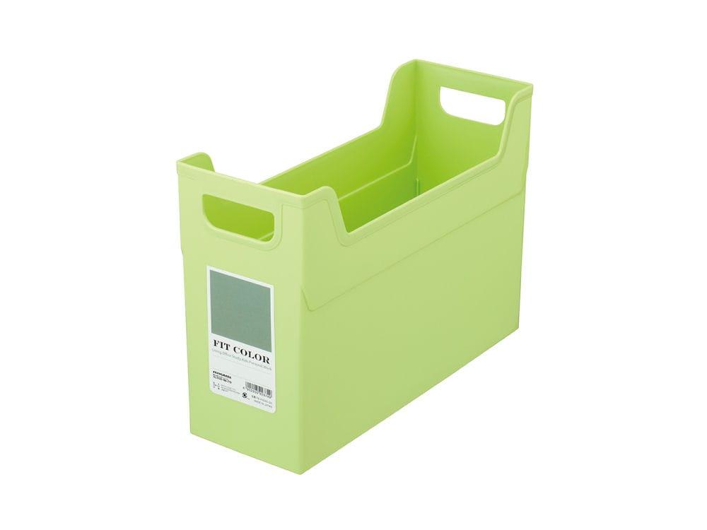 ナカバヤシ フィットカラー ファイルボックス グリーン