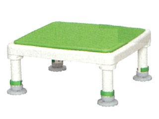 アロン アルミ製浴槽台ジャスト ソフト15-25 グリーン
