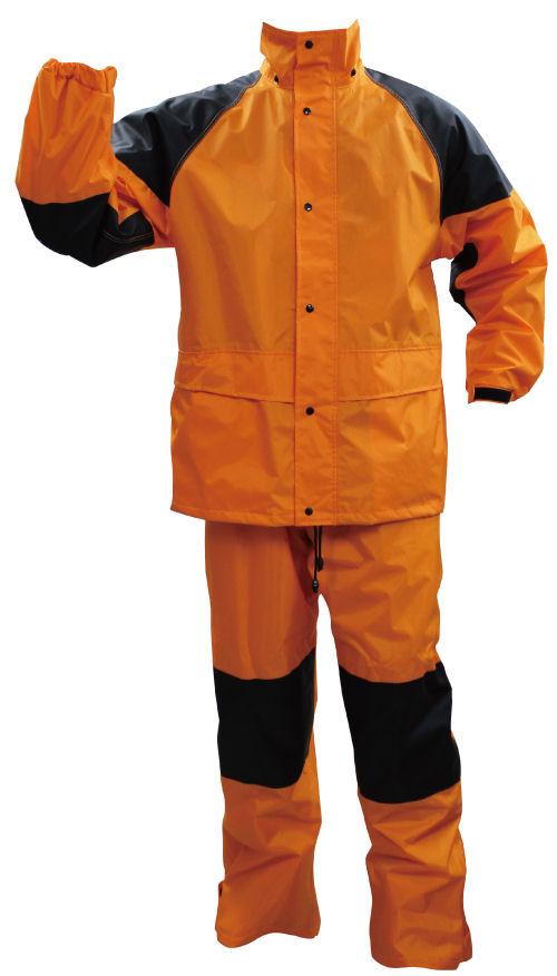 立体縫製レインスーツ #800 オレンジ 各サイズ