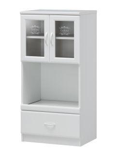 セシルナ カップボード CEC-1255SL ホワイト