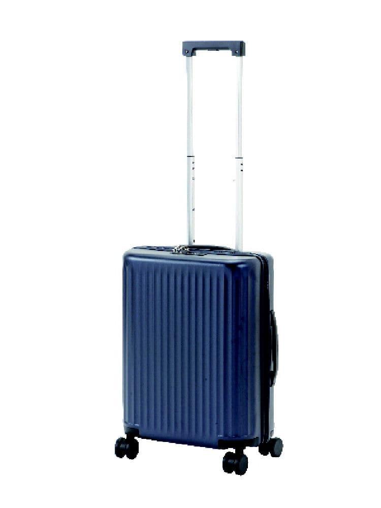コメリセレクト スーツケース PC114 ネイビー