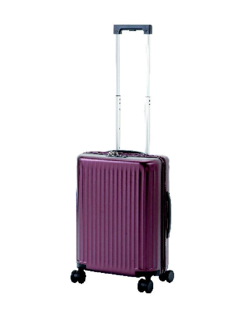 コメリセレクト スーツケース PC114 ワインレッド