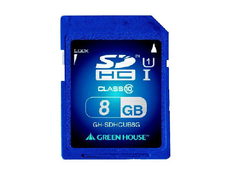 GH SDHC CL10 U1 8GB