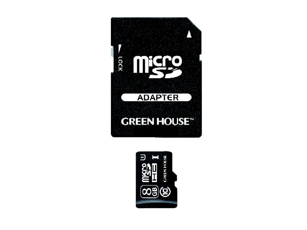 GH マイクロSD CL10 U1 8GB