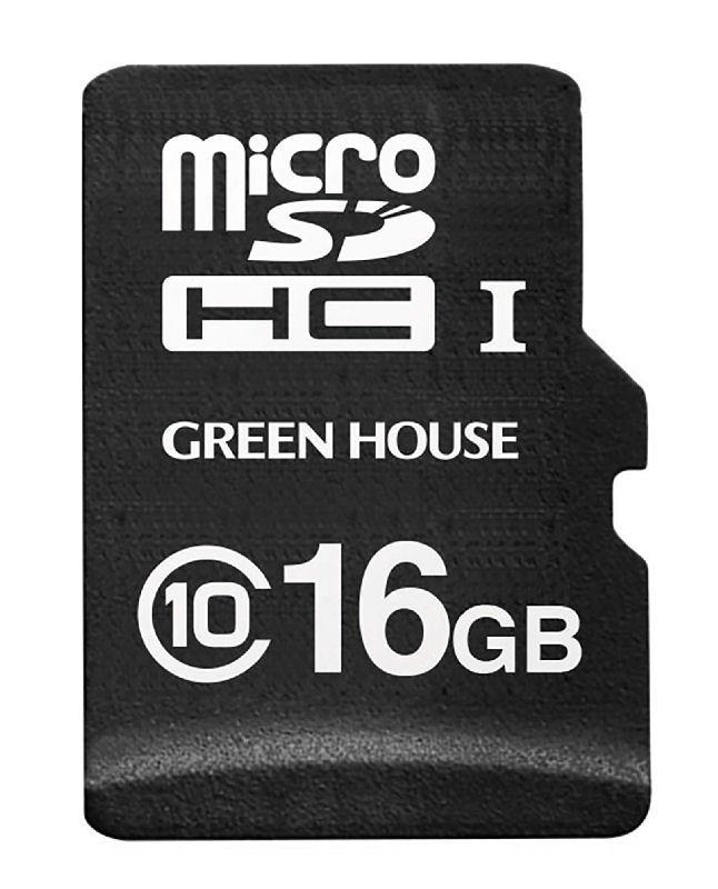 グリーンハウス マイクロSD ドラレコ/AC用 16GB