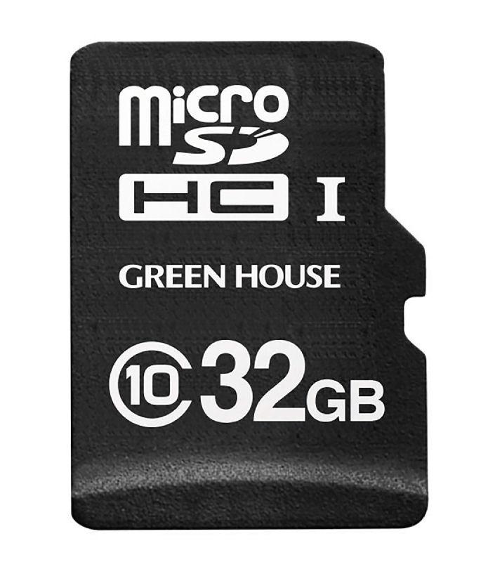 グリーンハウス マイクロSD ドラレコ/AC用 32GB