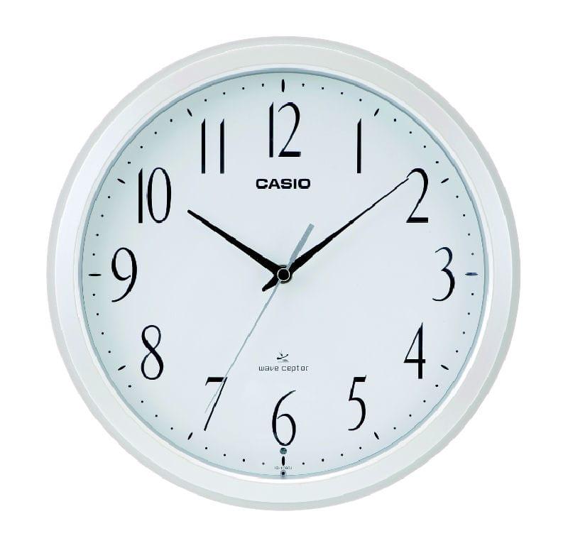 カシオ 電波掛時計 パールホワイト IQ-1060J-7JF