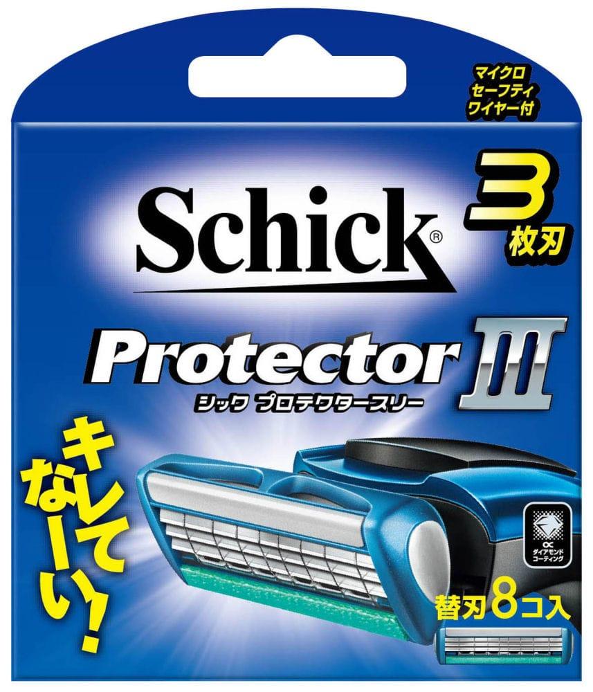 シック プロテクタースリー 替刃 8個入