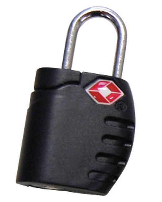 TSA 南京錠LX BK ブラック