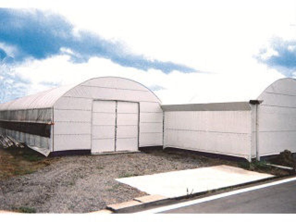 農業用POフィルム 白白コート5 厚み0.15mm×巾700cm(オーダー加工品)