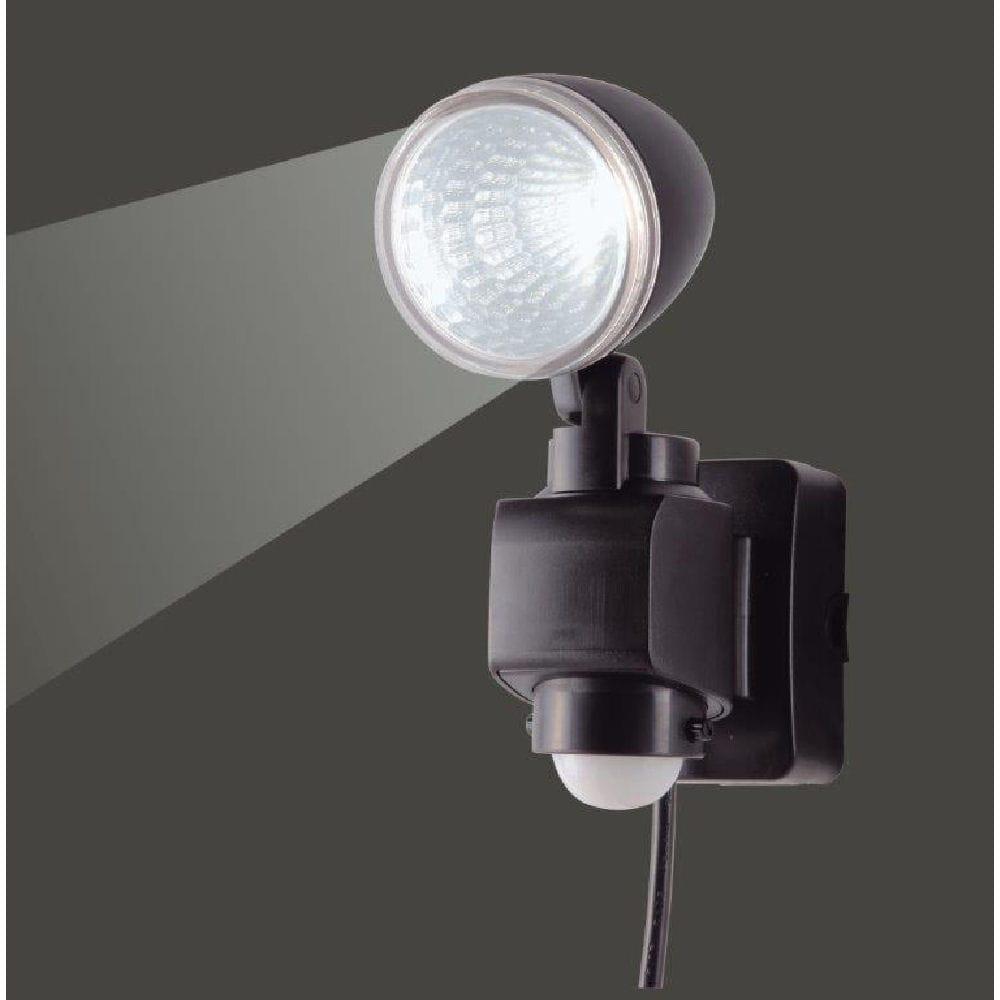 LED AC式センサーライト1灯×4W LA-40