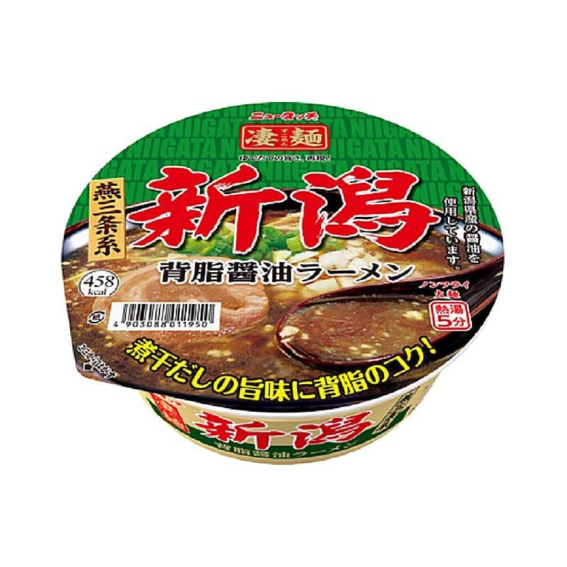 ヤマダイ 凄麺 新潟背脂 醤油ラーメン 124g