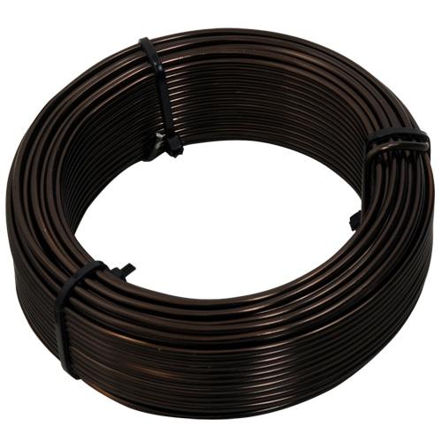 盆栽用アルミ線200g巻 2.0MM ブロンズ