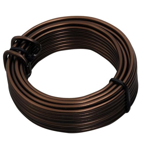 盆栽用アルミ線200g巻 3.5MM ブロンズ