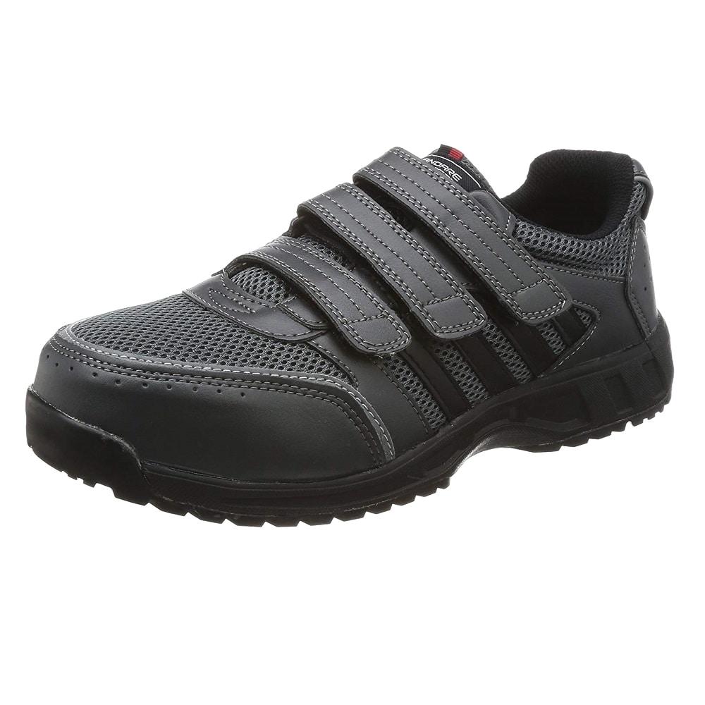 コーコス信岡 安全作業靴 JSAA認定 マジックタイプ チャコール 26.0cm A-45000