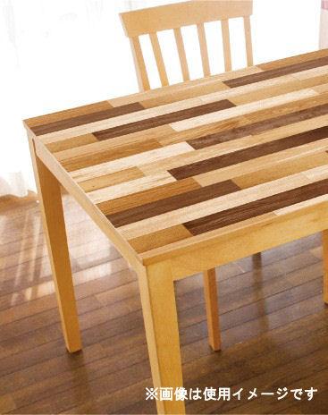 テーブルデコシート 寄木 ブラウン 各種