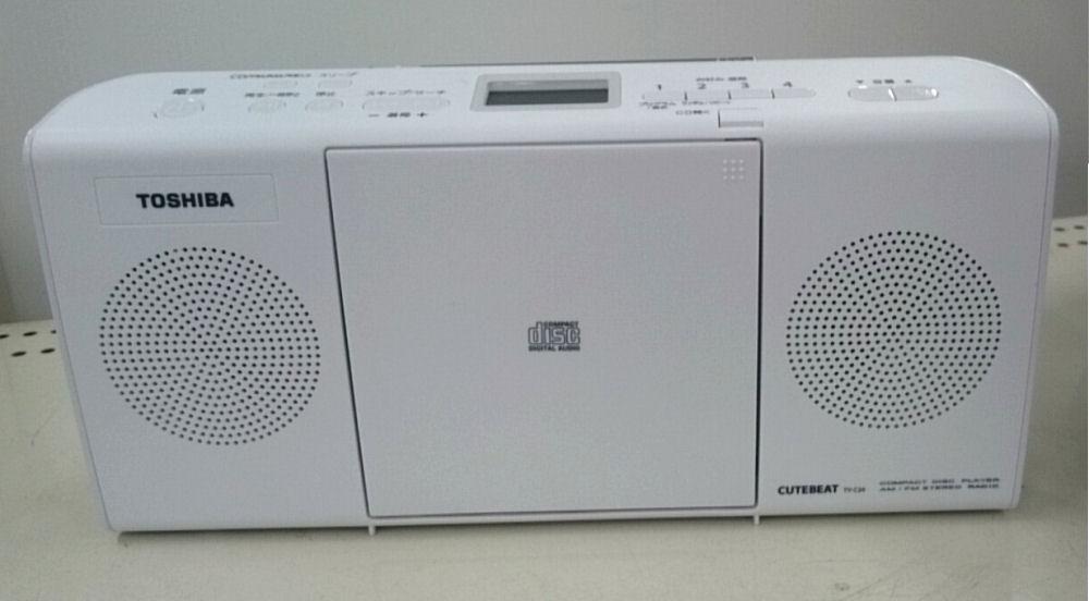 東芝 CDラジオ TY―C24(W) ホワイト