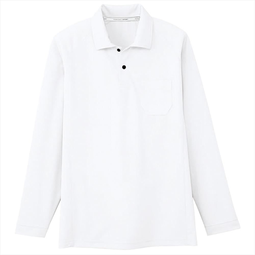 コーコス信岡 長袖ポロシャツ 吸汗速乾 男女兼用 各種