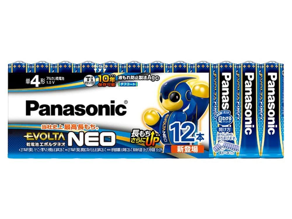 パナソニック エボルタNEO 単4形 アルカリ乾電池 12本 LR03NJ/12S