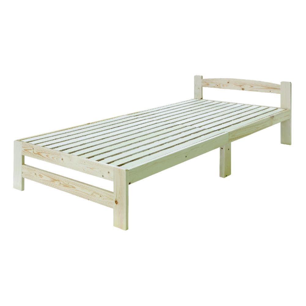 北欧フィンランド産 パイン材ベッド オーロラ シングル