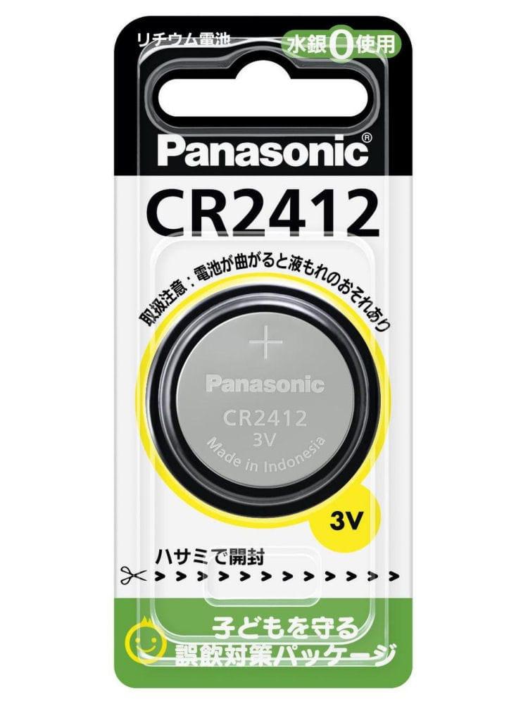 パナソニック コインリチウム電池 CR2412
