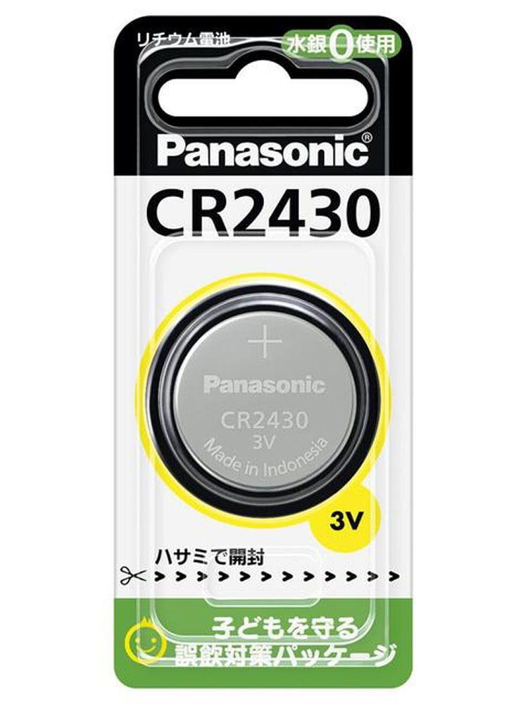 パナソニック コインリチウム電池 CR2430P