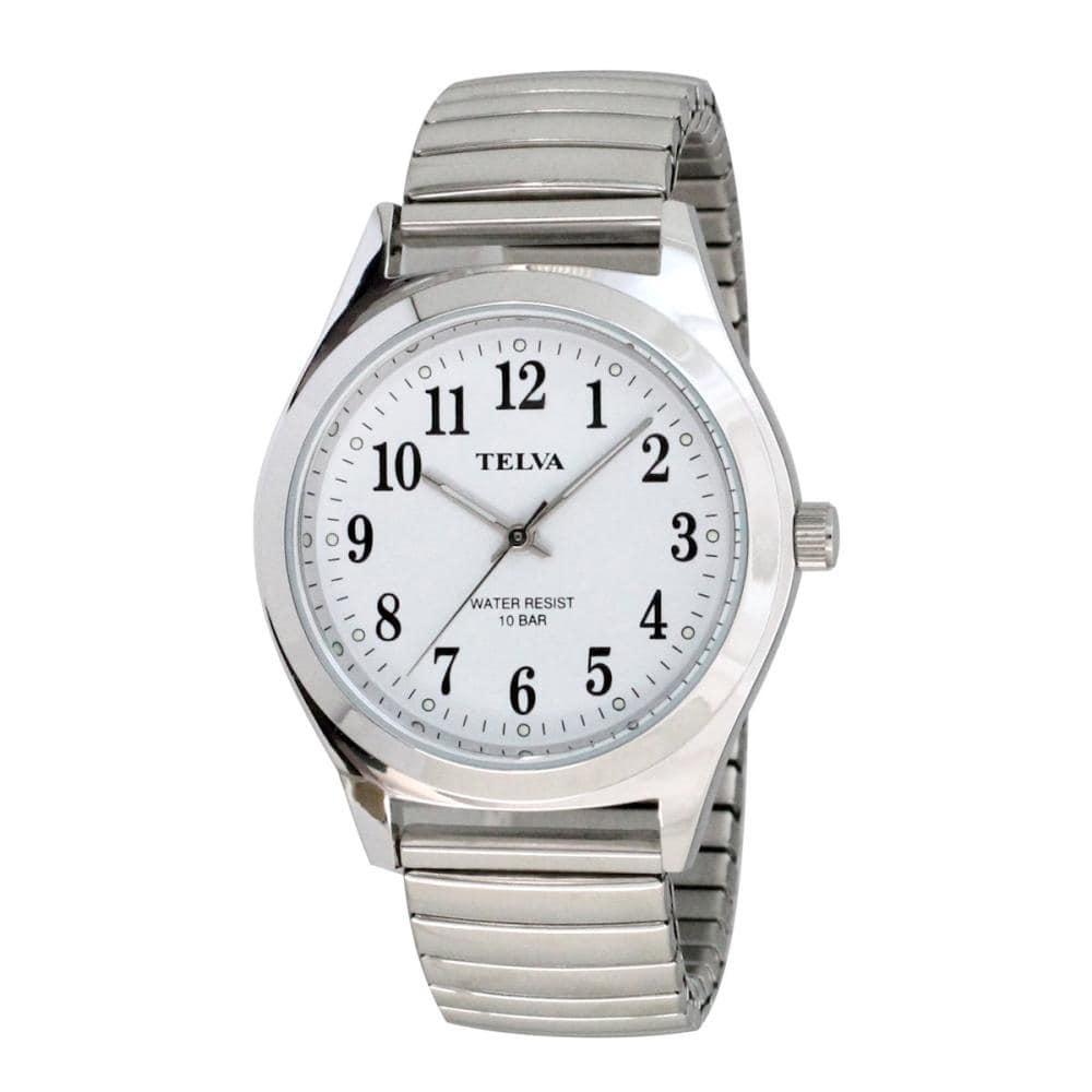 クレファー TELVA メタル腕時計 シルバー TE-AM011-WTS