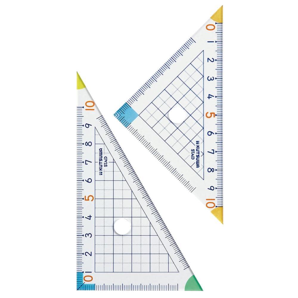 クツワ 算数三角定規