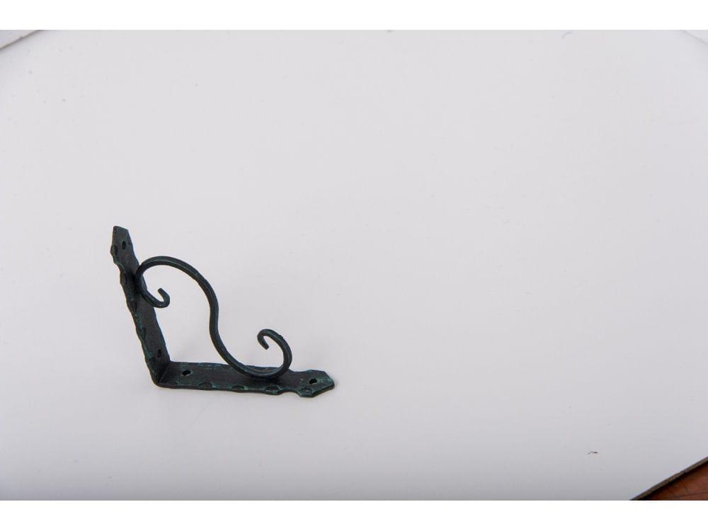 KJP-105 鍛冶屋の棚受 青銅 105×105 ビス付