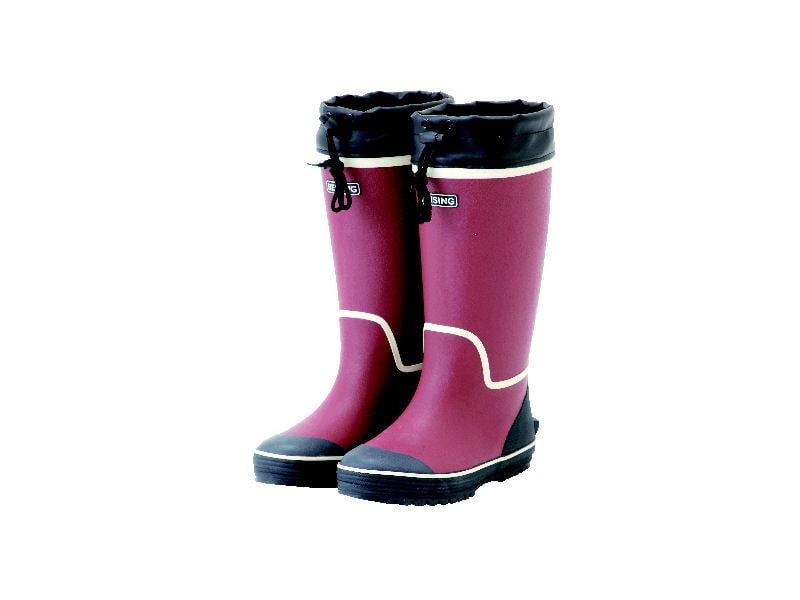 婦人防寒ウレタン長靴 レッド S 22.5~23cm