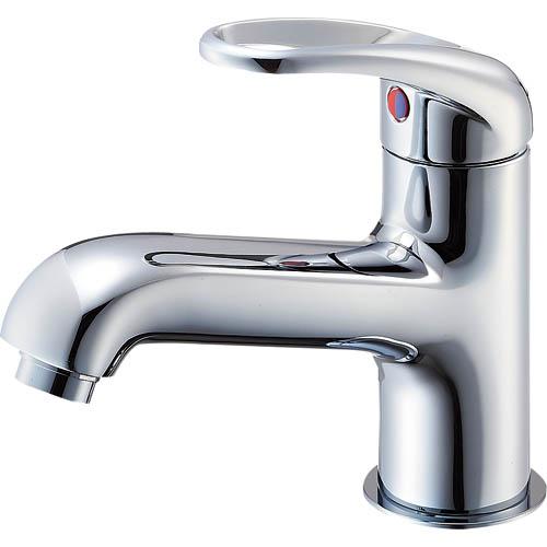 SANEI(サンエイ) シングルレバーワンホール洗面混合栓 ポップアップなし ゴム栓なし 寒冷地用 K4710NJK-13