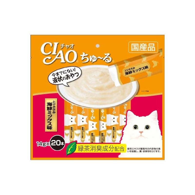 CIAOちゅ~る ささみ海鮮ミックス 20本