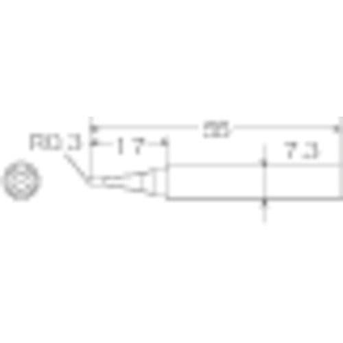 グット ハンダコテサキ TQ-77RT-SB