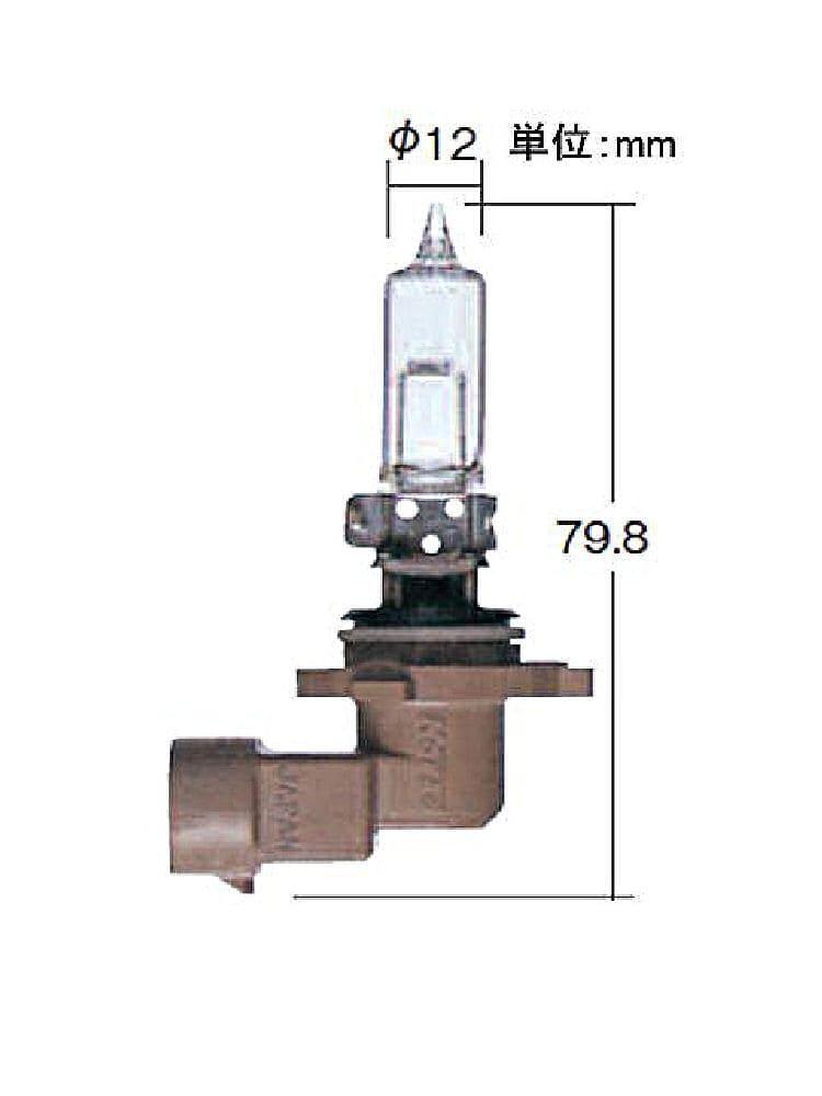 ハイパワーハロゲンバルブ 9006J 0653