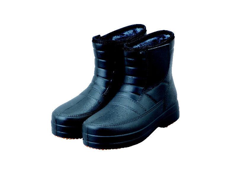 紳士かる~い防寒防水ブーツ ブラック L 25.5~26cm