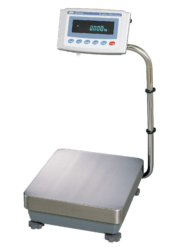 検定付防塵・防水重量級天びん GP100KR